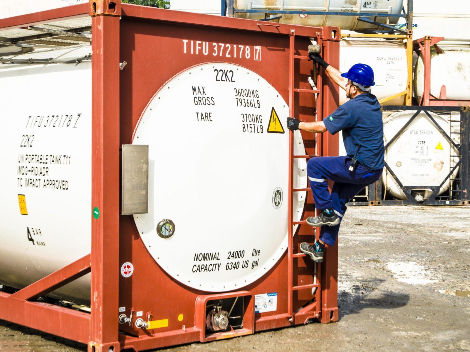 Экологические риски обслуживания  танк-контейнеров: другое мнение